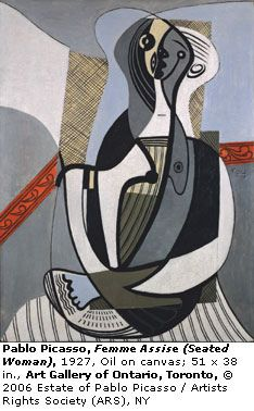 Pablo Picasso - Seated Woman