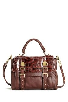 8201828ab888 CC SKYE Upper East Side Crossbody Bag (in Brown Croco - shown with  detachable shoulder