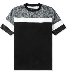 Black/White Garrincha FC001 T-Shirt