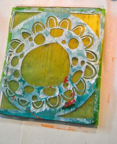 The 128 best images about Gelli plate art on Pinterest