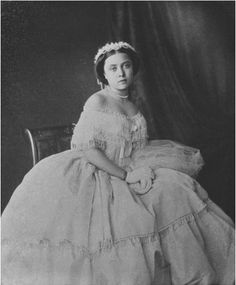 Victoria, Princess Royal, on her 16th birthday (1856)  My favourite royal (from the past of course and apart from henry the eighth)