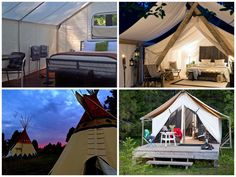 Happy Glampers: Luxury Camping Spots in the Northwest - ParentMap