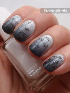 132 Best Do It Yourself Newspaper Nails Images On Pinterest In 2018
