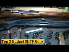 "Top 3 SHTF Budget Guns -Sensible Prepper's ""Top 3 SHTF Budget Guns"". If money is tight but you're concerned about self defense and the safety of your family, here are 3 guns you should consider for SHTF. -Posted on May 05, 2014"