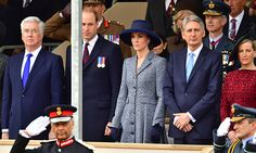 Hello!-War Memorial Unveiling, London, March 9, 2017-Duke and Duchess of Cambridge and the Countess of Wessex