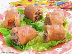 » Idei de mini aperitive gen mise en boucheCulorile din Farfurie Sushi, Fresh Rolls, Salmon Burgers, Tuna, Seafood, Appetizers, Meat, Chicken, Ethnic Recipes