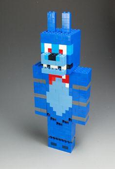 Lego Custom Bonnie Five Nights at Freddy's