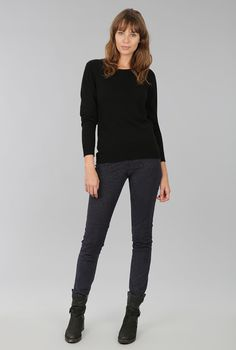 CASHMERE CLASSIC ROUND NECK JUMPER - Women's Jumpers | Brora
