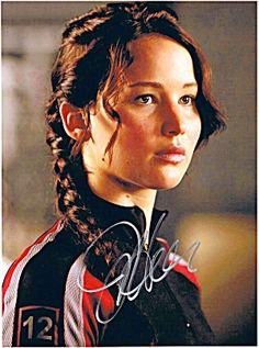 Jennifer Lawrence (The Hunger Games) Signed 8x10 Autograph Photo - Strickler's Celebrity Autographs & Gifts - $125