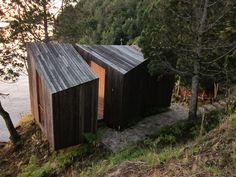 SAUNA. Proyect by Panorama Arquitectos in Chile
