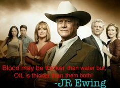 JR Ewing Quote