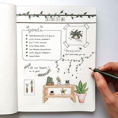 Cover page for 2018 I love to draw plant doodles currently. ---- It is so hard to believe that they are only a few days (12 to be precise) left from this year. • Cover Seite für 2018 Ich liebe es im Moment Pflanzen doodles zu zeichnen. ------ Es ist so schwer zu glauben das nur noch ein paar Tage (12 um genau zu sein) von diesem Jahr übrig sind. • • • #bulletjournal #bulletjournalgermany #bujoaddict #bujo #plant #doodle #doodles #green #bujoinspiration #buj...