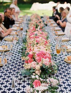 Modern Garden Wedding at Nestldown Home Wedding, Spring Wedding, Garden Wedding, Wedding Table Decorations, Nautical Wedding, Color Photography, Event Design, Wedding Styles, Wedding Flowers