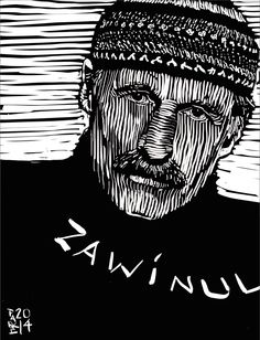 Joe Zawinul South American Music, Daddy Go, Jazz Artists, Illustration, Fictional Characters, Illustrations, Fantasy Characters
