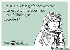 His last girlfriend