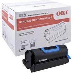 Oki 45488802 Original Black Toner Cartridge - 45488802