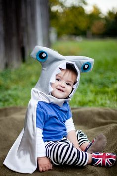 my child will have this. Hammerhead Shark kid Halloween costume baby by pipandbean on Etsy, $49.00