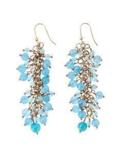 ROSANTICA  Grappolo angiolite earrings