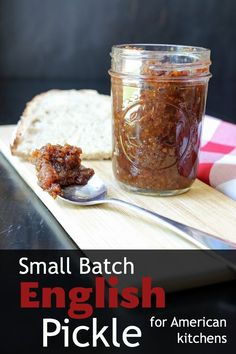 Made with American pantry staples, this Small Batch English Pickle recipe is tangy and sweet, a welcome change to the preserves you usually serve. Cheese And Pickle Sandwich, Veggie Sandwich, Sandwich Recipes, Homemade Pickles, Pickles Recipe, Sandwich Spread, Clean Eating Challenge, American Kitchen, Watermelon Rind