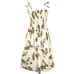 Short, Dress, Hawaiian - Moon Hawaiian Moonkiss Short Dress