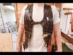 Make Your Own Tool Vest to Custom Fit Your Favorite Hand Tools