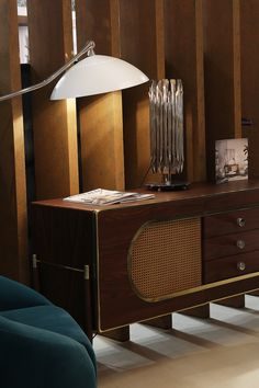 The sleek outline of midcentury modern Dandy Sideboard makes you surrender to the Scandinavian design every time you look at it. Find it Maison et Objet 2017 Paris together with the trends M&O. Hall 7| Stand E40