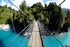 Day 10 - Maybe walk this bridge in Hokitika before arriving in Christchurch, New Zealand