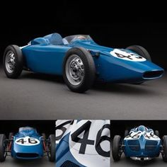 1958 Porsche - Behra Type: Formula II Serial No. 550 032Flat-four air-cooled engine, mounted midship, twin overhead camshafts, 1498 cc, 150 hp at 8200 rpm. Via motorsportarchives #porsche #racing #racecar