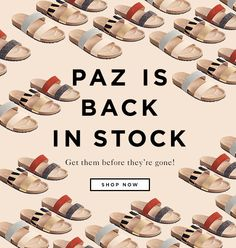 The Paz Two Strap Sandal Is Back In Stock At The Official Loeffler Randall Online Store LoefflerRandall.com Email Marketing, Digital Marketing, Fashion Banner, Two Strap Sandals, Type Treatments, Banner Images, Newsletter Design, Email Templates, Sale Banner