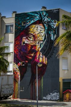 "barbarapicci: ""(via Streetart News [wall 548] - Hopare in Portogallo) """