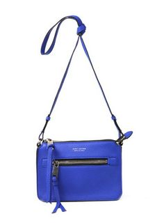 Marc Jacobs Big Apple Pochette Bag in Royal Blue