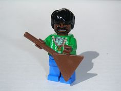 Lego - Jimi Hendrix by Dunechaser, via Flickr