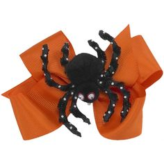 Our Rags Land Spider Clippie Bow! Shop NOW at www.ragsland.com