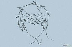 Cómo dibujar cabello de anime