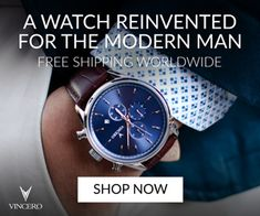 VINCERO - A Watch Reinvented for the Modern Man