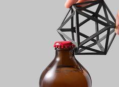 Geometrical Designed Bottle Opener – Fubiz Media