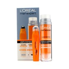 Men Expert Set: Hydra Energetic Turbo Booster + Ice Cool Eye Roll-On 2pcs
