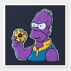 Homer - Infinity War, The Simpsons Drawing Cartoon Characters, Character Drawing, Comic Character, Cartoon Drawings, Easy Drawings, Simpsons Shirt, The Simpsons, Homer Simpson, Futurama