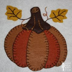 Wool Work Applique Patterns, lot of elements that can be combined to create your own piece.