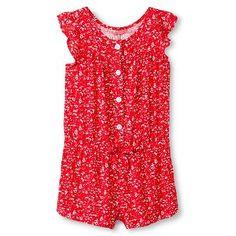 Baby Girls' Floral Challis Jumpsuit Pink - Genuine Kids from Oshkosh™