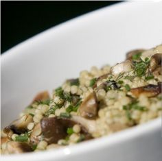 Creamy Garlicky Quinoa - The Healthy Voyager