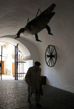 Brno - The Crocodile and the Wheel, local folklore