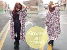 Haz un kimono sin coser! DIY - YouTube