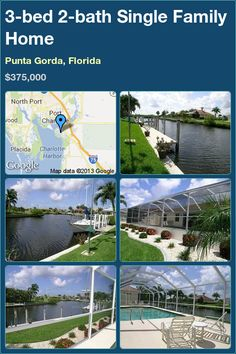 3-bed 2-bath Single Family Home in Punta Gorda, Florida ►$375,000 #PropertyForSale #RealEstate #Florida http://florida-magic.com/properties/1935-single-family-home-for-sale-in-punta-gorda-florida-with-3-bedroom-2-bathroom