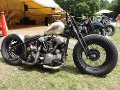 #Harley Knucklehead #bobber