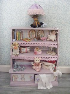 Dolls house toy cupboard by juliedeighton on Etsy, $110.00