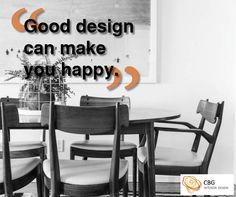 """Good design can make you happy"""