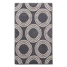 "Shag Circles Area Rug - Grey/White - 4'X5'6"" - Room Essentials™ : Target"