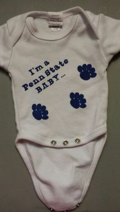 1000 images about Penn state baby clothes on Pinterest