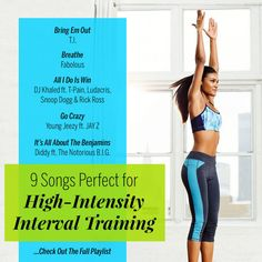 9 Songs Perfect for High-Intensity Interval Training